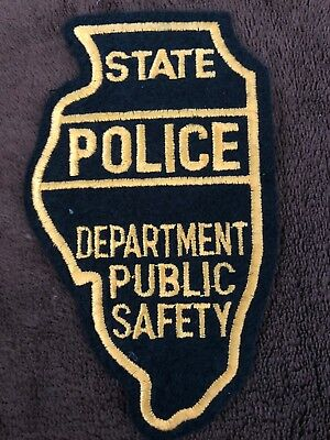 Illinois State Police Patch - Department Public Safety