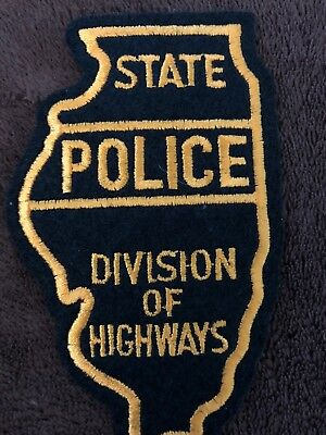 Illinois State Police Patch - Division Of Highways