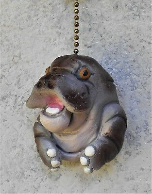 Manatee Pull Switch Sculpture handmade wildlife art décor WildCritterDecor
