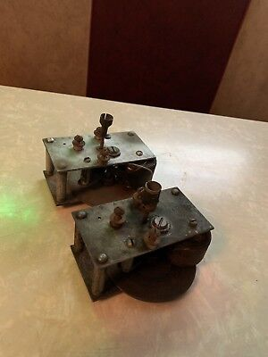 Vtg Kochs Electric Barber Pole Motor Type B Cylinder Brass Cup As Is Parts USA