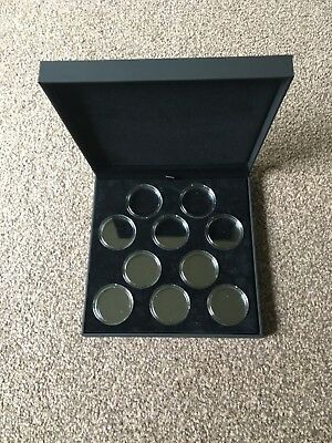 Case for the silver 2oz queens beast coins (INCLUDING CAPSULES)