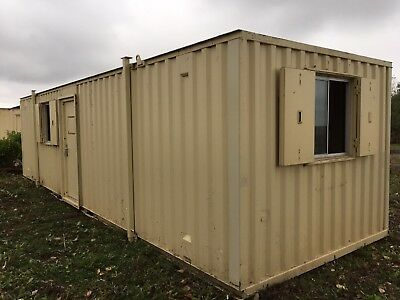 32ft x 10ft Site Office Cabin Welfare Portable Steel Building