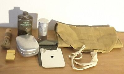 Wwii Canadian Holdall With Contents