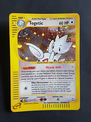 Togetic   H27/H32 HOLO* - Aquapolis (eng) (pk1519)