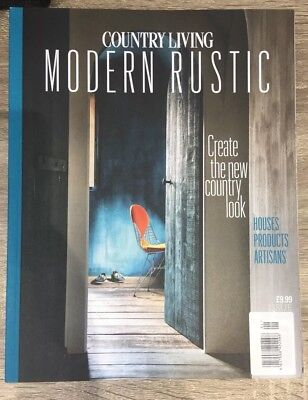 Country Living Modern Rustic Magazine Issue # 3 Rare