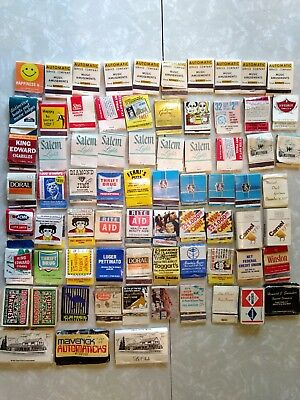 Lot of 73 Matchbooks - One Girlie, One HoJo's,