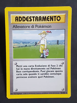 AD. Allevatore di Pokemon  76/102 - RARA* – Set Base (ita) - (sb1544)