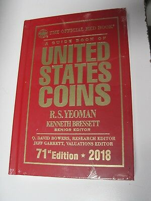 2018 Whitman Official Red Book of US Coins- 71st Edition - Hardcover *NEW*