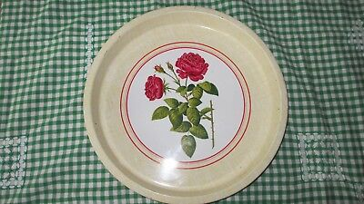 Vintage Shabby Chic Willow Rose Royale Serving Tray, high teas,cafe
