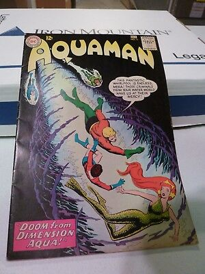 Aquaman #11 - First Appearance of Mera! (Sep-Oct 1963, DC)