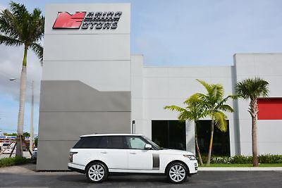 2015 Land Rover Range Rover Supercharged 2015 RANGE ROVER SUPERCHARGED - ONLY 15,000 ORIGINAL MILES - FACTORY WARRANTY