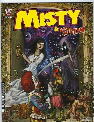 Scream & Misty Halloween Special (2000 Ad Rebellion Mags, 2017) Nm