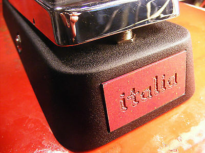 *italia*wah by gagan-a vox mod to get real filmcan vox 60s tone! Free US ship