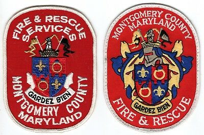 Montgomery County MD Maryland Fire Rescue Department Company Patch