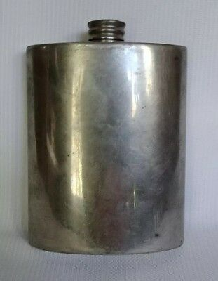 English Pewter Flask Exclusively for LUNT Silversmiths Made in England