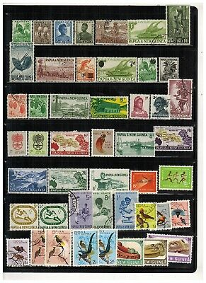 Lot of Papua New Guinea Old Stamps MH/MNH/Used