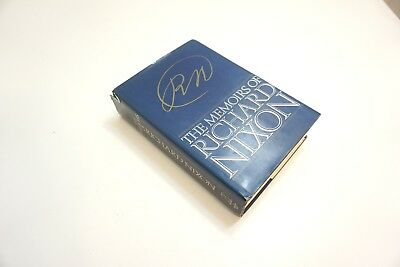 1978 The Memoirs Of Richard Nixon Signed Autographed First Edition Printing Book