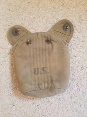 WW1 US Canteen Cover Original 1918 lcc and co #7