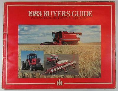 1983 Buyers Guide International Agricultural Equipment Brochure - IH