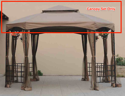 Sunjoy L-GZ240PST-A Canopy Set Replacement for Big Lots