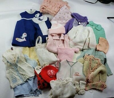Lot of 28 Vintage Baby Clothing Items
