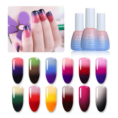 10ml Termico Cambio di temperatura Smalto Gel UV Semipermanente Gel BORN PRETTY
