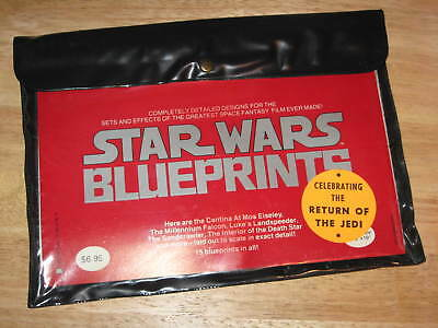 STAR WARS Blue Prints Unopened Original Set 1977 reissued 1983