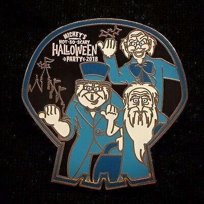 Halloween Party MNSSHP 2018 Hitchhiking Ghost Gus Ezra Phinea Mystery Disney Pin