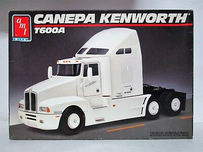 AMT ERTL CANEPA Kenworth T600A Model Semi Truck Model Kit  Sealed Inside   6020