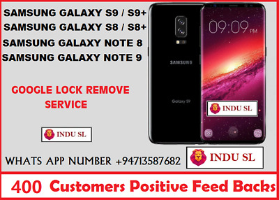 SAMSUNG ACCOUNT GOOGLE FRP Lock Remove Galaxy S7 s8 note 8 all