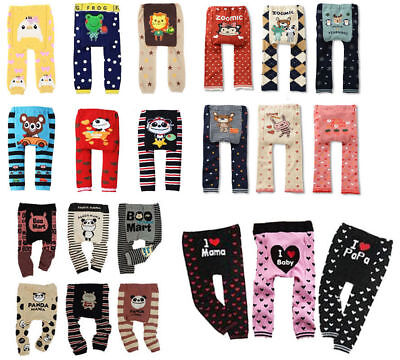 Baby Toddler Boys Girls Cotton Animal Leggings PP Pant 30 model 0-36 Months