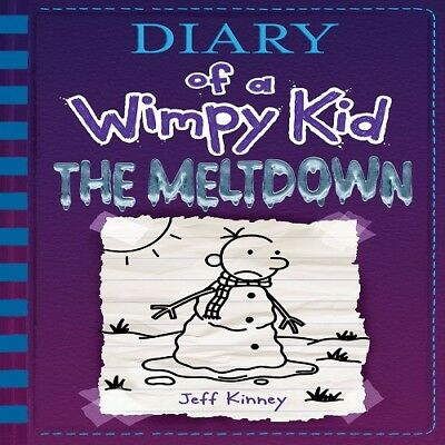 The Meltdown (Diary of a Wimpy Kid Book 13) Hardcover Jeff Kinney Fast Shipping
