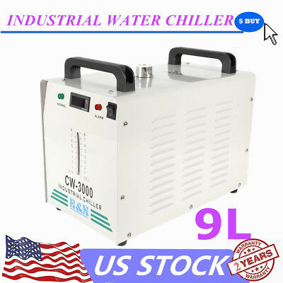 Cw-3000 110v Thermolysis Industrial Water Chiller for 60/80w Co2 Glass Tube