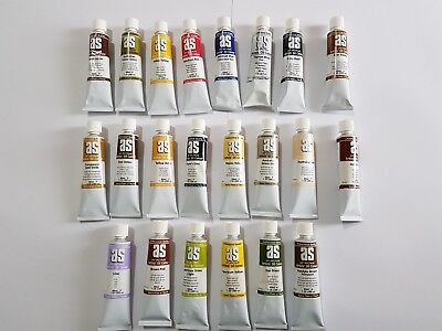 Art Spectrum oil paint 40ml  1 set of 22 paints