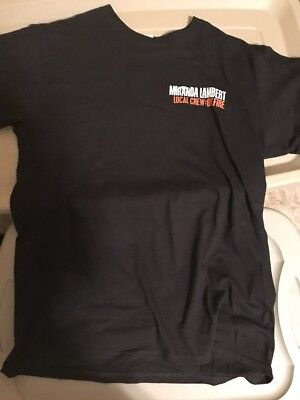 Miranda Lambert On Fire Crew Shirt Large