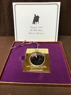 1999 White House Historical Association Abraham Lincoln Christmas Ornament