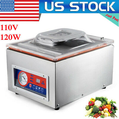 Commercial Automatic Vacuum Sealer Food Sealing Packing Machine DZ-260 110V
