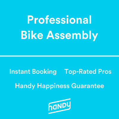 Bicycle Assembly powered by Handy. Pros available 7am-11pm!