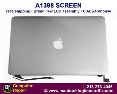 "New LCD Screen Assembly for Macbook Pro Retina 15 ""A1398 Late 2013 Mid 2014"