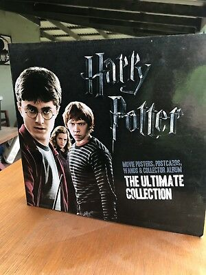 """Harry Potter """"The Ultimate Collection"""" Including 3 Wands"""