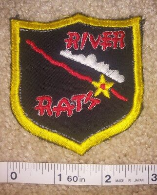 Vietnam River Rats Usaf Flight Jacket Suit Patch Air Force