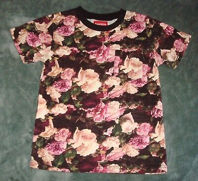 Supreme Flowers Pocket T Shirt Womens Small S Tee Roses Tee Floral  Skateboard 5bc7867d4b