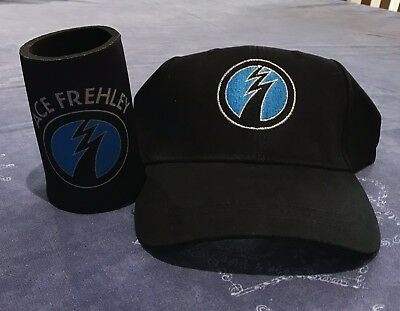 Ace Frehley (KISS) Cap and Stubby Holder.             (Free Postage Worldwide).