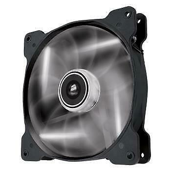 Corsair SP 140mm PC Desktop Fan with White LED High Pressure Twin 2x Pack
