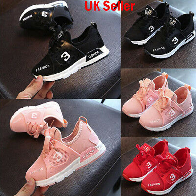 Hot Toddler Kid Boys Girls Sport Running Shoes Sneaker Baby Mesh Trainers Shoes