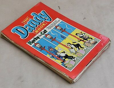 VINTAGE UK ANNUAL - DANDY BOOK 1960's- KORKY, DESPERATE DAN, CORPORAL CLOTT