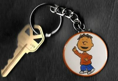 FRANKLIN of Peanuts Charlie Brown by Charles Schulz Key Chain KEYCHAIN