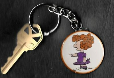 FRIEDA of Peanuts Charlie Brown by Charles Schulz Key Chain KEYCHAIN