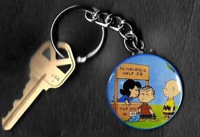 Lucy Psychiatric Help Charlie Brown Peanuts by Charles Schulz Key Chain KEYCHAIN