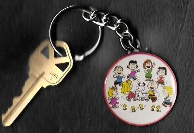 Peanuts Gang Snoopy Charlie Brown Peanuts by Charles Schulz Key Chain KEYCHAIN
